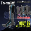 PERYSHER Thermolite Unisex Active Sports Socks - ski socks, hiking socks