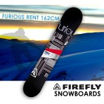 FIREFLY FURIOUS RENT SNOWBOARD 162cm Freestyle  Light Weight All-mountain All-terrain