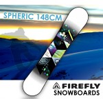 FIREFLY  SPHERIC SNOWBOARD 148cm Freestyle  Light Weight All-mountain All-terrain