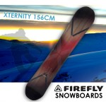 FIREFLY XTERNITY SNOWBOARD 156cm Freestyle  Light Weight All-mountain All-terrain