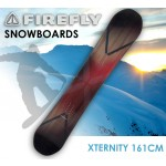FIREFLY XTERNITY SNOWBOARD 161cm Freestyle  Light Weight All-mountain All-terrain