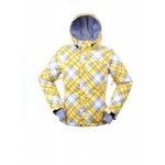 686 GIRLS MANNUAL BELLA SKI/SNOWBOARD JACKET - YELLOW