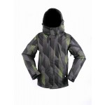 Ride Mens Gatewood - Chevron Print - Snowboarding Jacket