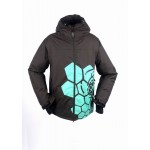 New Mens Grenade Insulated 10K SKi Snowboarding Jacket - Black