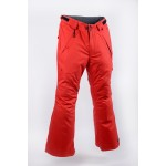 RIDE Men's Red Phinney Soft Shell Ski / Snowboard Pants