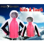 PERYSHER Extra Warm Snowboard Jacket / Ski Jacket for Kids & Youth - Pink