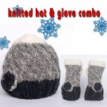 Beautiful Knitted Hat & Glove Combo by C&A - Great Gift Idea