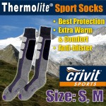 PERYSHER Thermolite Active Unisex Sports Socks - ski socks, hiking socks