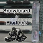 New OCTOPUS Snowboard 151cm and Snowboard Bindings Complete Set Combo