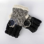 Beautiful C&A Knitted Fingerless Gloves - Great Gift Idea
