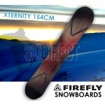 FIREFLY XTERNITY SNOWBOARD 154cm Freestyle  Light Weight All-mountain All-terrain