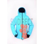 New Mens Grenade Insulated 10K SKi Snowboarding Jacket - Blue
