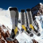 2 Pairs Crivit Sports Thermal Socks | Snowboarding Ski Socks Hiking Socks - Warm & Breathable