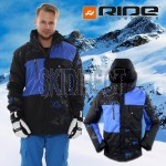 New RIDE 10K / 5K Wedgewood Mens Snowboard Ski Jacket