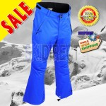 RIDE Men's Blue Phinney Soft Shell Ski / Snowboard Pants