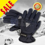 ROCKPOINT Kids Youth Unisex Reflective Snow Ski Board Gloves Thinsulate Insulation - Dark Blue