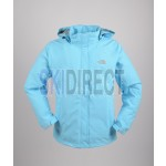 TNF The North Face Waterproof Blue Shell Jacket for Ladies & Girls
